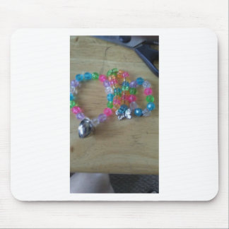 home made beaded braclets mouse pad