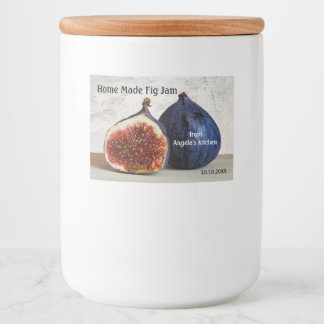 Home Made Fig Jam Container Label