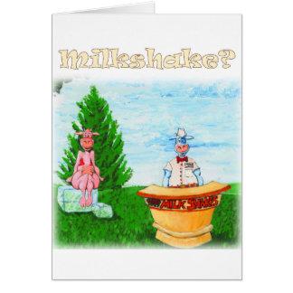 Home-made Milkshakes Greeting Card