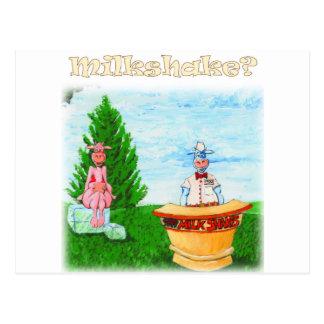 Home-made Milkshakes Postcard