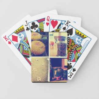 Home-made with love bicycle playing cards