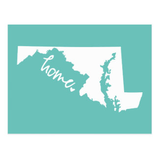 Home Maryland Custom Color Postcard