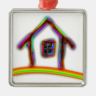 Home Metal Ornament