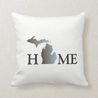 HOME - Michigan Throw Pillow