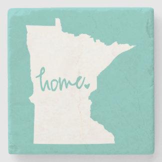 Home Minnesota Custom Colour Stone Coaster