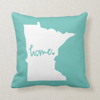 Home Minnesota Custom Colour Throw Pillow