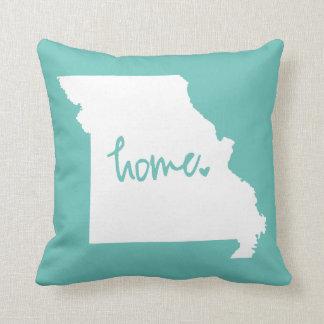 Home Missouri Custom Color Throw Pillow