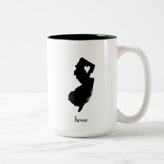 """Home"" New Jersey 15 oz. Mug"