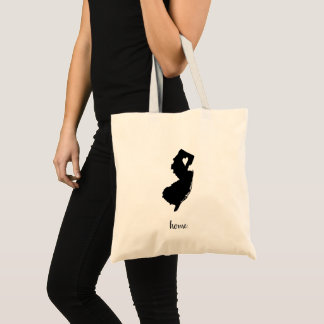 """Home"" New Jersey Tote Bag"