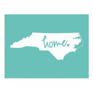 Home North Carolina Custom Colour Postcard