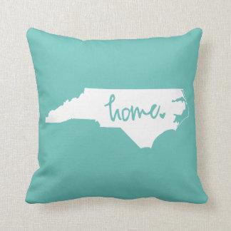 Home North Carolina Custom Colour Throw Pillow