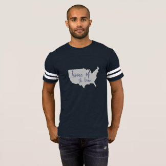 Home of the Brave America 4th of July Shirt