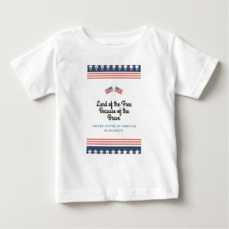Home of the Brave Infant Shirt