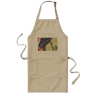 Home of the Free Long Apron