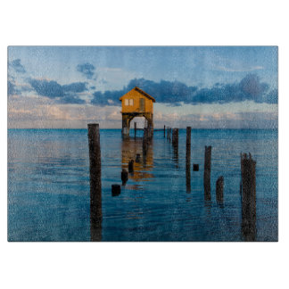Home on the Ocean in Ambergris Caye Belize Cutting Board