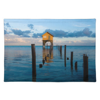Home on the Ocean in Ambergris Caye Belize Placemat