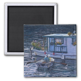 """Home On the Water"" Magnet"