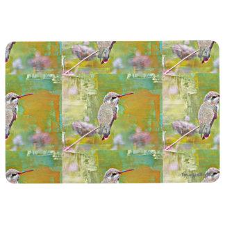 Home Pastel Hummingbird Mat