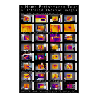 Home Performance Tour of Infrared Thermal Images Poster