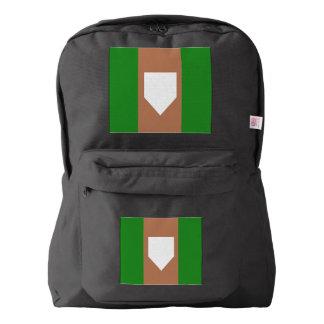 home plate  American Apparel™ Backpack, Black Backpack