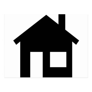 Home real estate postcard