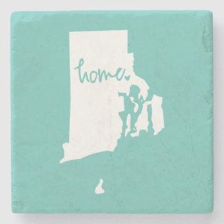 Home Rhode Island Custom Color Stone Coaster