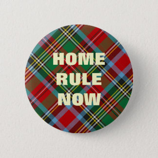 Home Rule Scottish Independence Badge 2 Inch Round Button