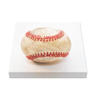 Home Run Baseball Canvas Print