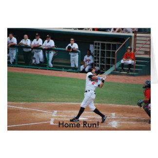 Home Run! greeting/invitation card