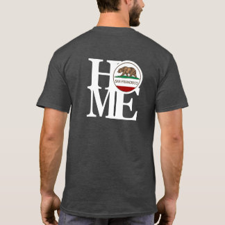 HOME San Francisco Mens Dark Tee