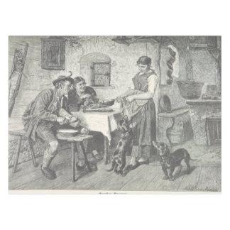 home scene 2 tablecloth