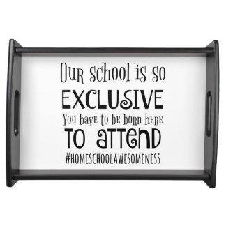 Home school tray