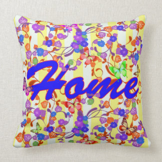 Home Seamless Vector abstract  Pattern Throw Pillow