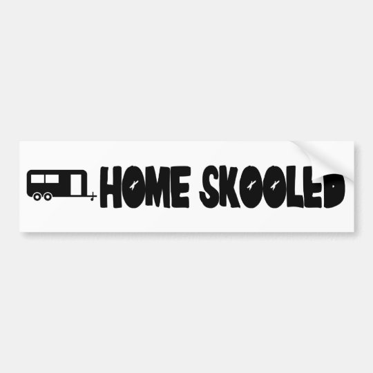 Home Skooled Bumper Sticker