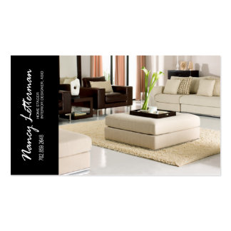 Home Stager Interior Designer Business Card Templates
