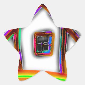Home Star Sticker