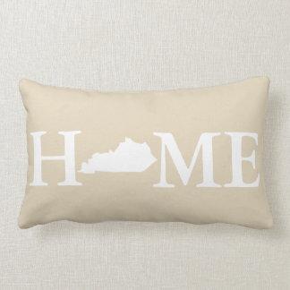 Home State Kentucky Classic Taupe Family Name Lumbar Pillow