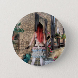 HOME SWEET HOME 2 INCH ROUND BUTTON