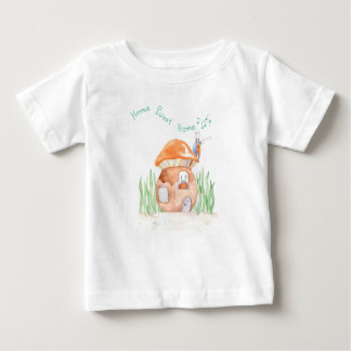 """""""Home Sweet Home""""  Baby Fine Jersey T shirt"""