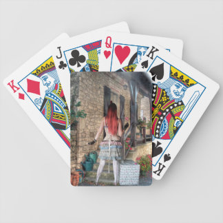 HOME SWEET HOME BICYCLE PLAYING CARDS