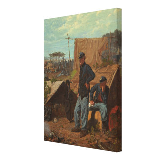 Home, Sweet Home, c.1863 (oil on canvas) Stretched Canvas Print
