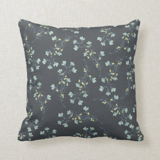"""Home Sweet Home"" Coordinating Floral Throw Pillow"