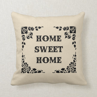 Home Sweet Home Decorative Throw Pillow