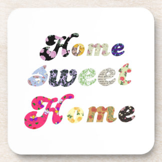 Home Sweet Home Drink Coasters