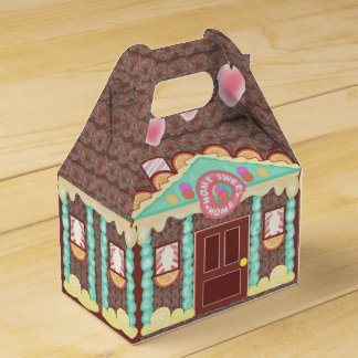 Home Sweet Home gable favour box