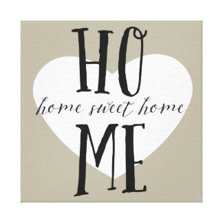Home Sweet Home Gallery Wrap Canvas