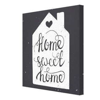 Home Sweet Home Gallery Wrapped Canvas