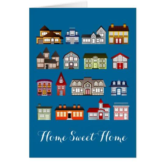 Home Sweet Home Houses Card