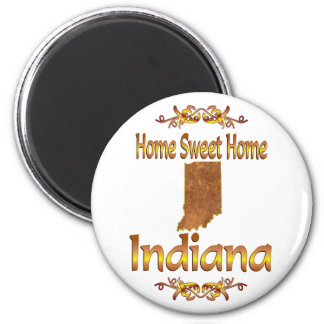 Home Sweet Home Indiana Magnet