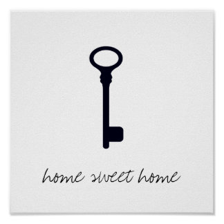 Home Sweet Home Key Print